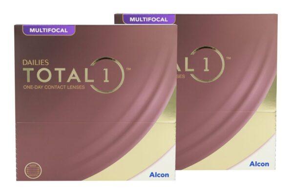 Dailies Total 1 Multifocal 2 x 90 Tageslinsen Sparpaket 3 Monate