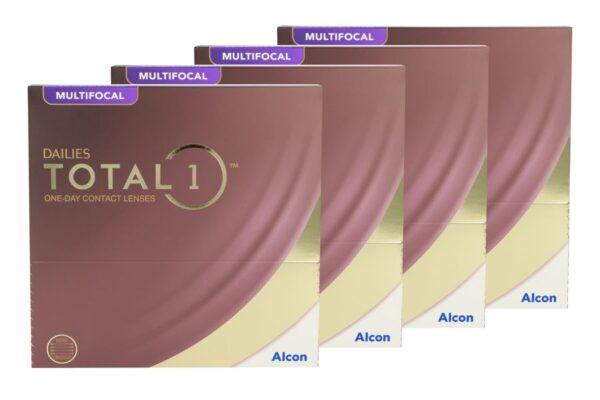 Dailies Total 1 Multifocal 4 x 90 Tageslinsen Sparpaket 6 Monate