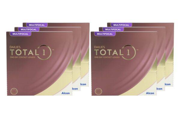 Dailies Total 1 Multifocal 6 x 90 Tageslinsen Sparpaket 9 Monate