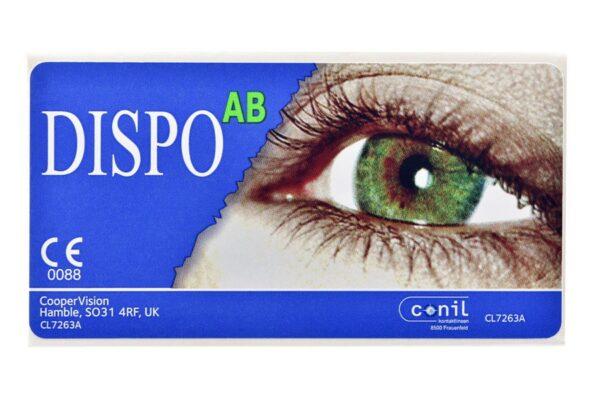 Dispo AB 4 x 6 Monatslinsen + Opti Free Pure Moist Jahres-Sparpaket