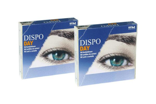 Dispo Day 2 x 90 Tageslinsen Sparpaket 3 Monate