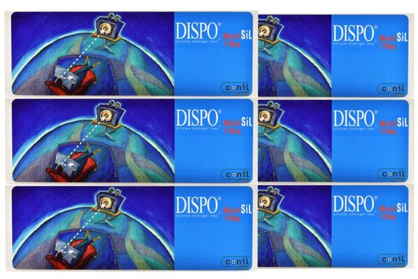 Dispo MultiSiL 1-Day 2 x 90 Tageslinsen Sparpaket 3 Monate
