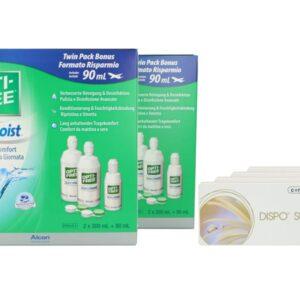 Dispo SL 4 x 6 Monatslinsen + Opti Free Pure Moist Jahres-Sparpaket