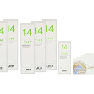 Dispo SL Multi 4 x 6 Monatslinsen + Lensy Care 14 Jahres-Sparpaket