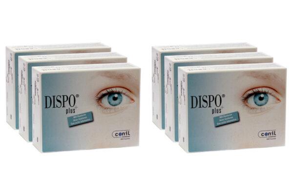 Dispo+ plus 6 x 90 Tageslinsen Sparpaket 9 Monate