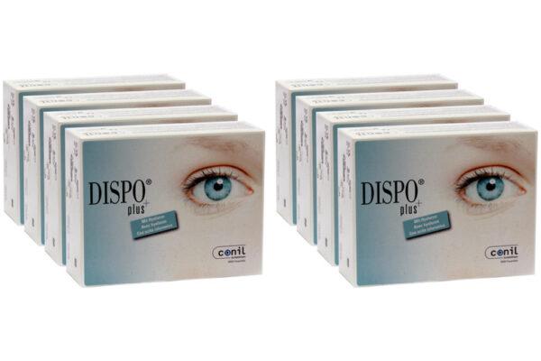 Dispo+ plus 8 x 90 Tageslinsen Sparpaket 12 Monate