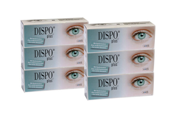 Dispo+ plus Toric 2 x 90 Tageslinsen Sparpaket 3 Monate
