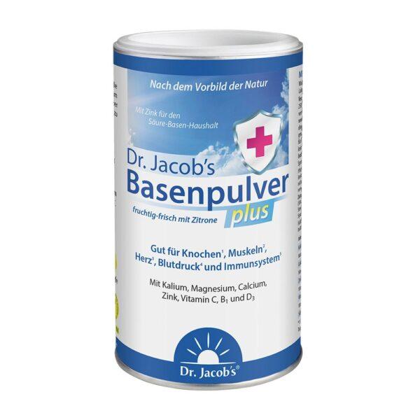 Dr. Jacob's Basenpulver plus mit Zitrone