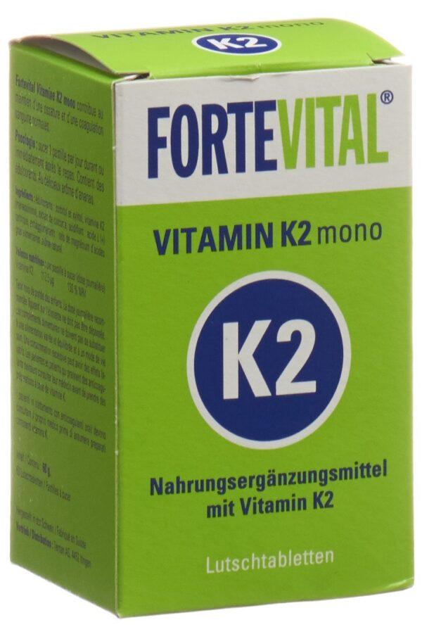 Fortevital Vitamin K2 mono Lutschtablette (60 Stück)