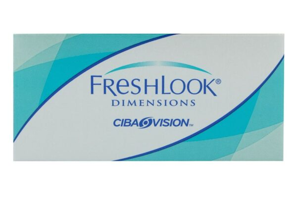 Fresh Look Dimensions 2 farbige Monatslinsen