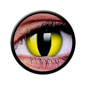 Funny Lens 2 Motiv-Drei-Monatslinsen Cats Eye