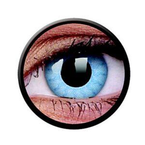 Funny Lens 2 Motiv-Drei-Monatslinsen Solar Blue