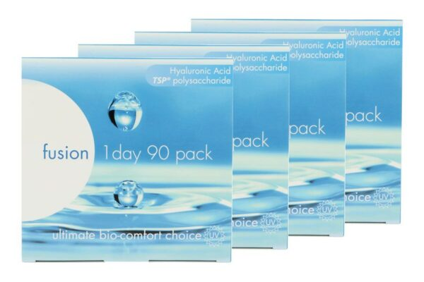 Fusion 1 Day 4 x 90 Tageslinsen Sparpaket 6 Monate