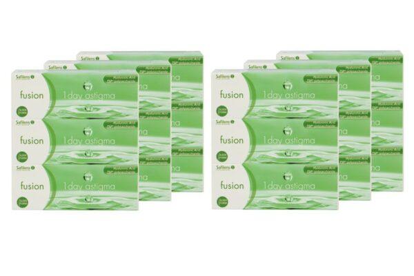 Fusion 1 Day Astigma 6 x 90 Tageslinsen Sparpaket 9 Monate
