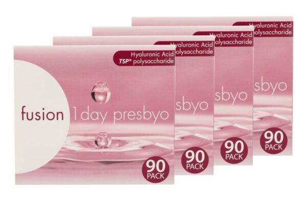 Fusion 1 Day Presbyo 4 x 90 Tageslinsen Sparpaket 6 Monate