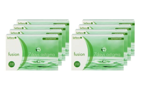 Fusion 7 Days Astigma 8 x 12 Wochenlinsen