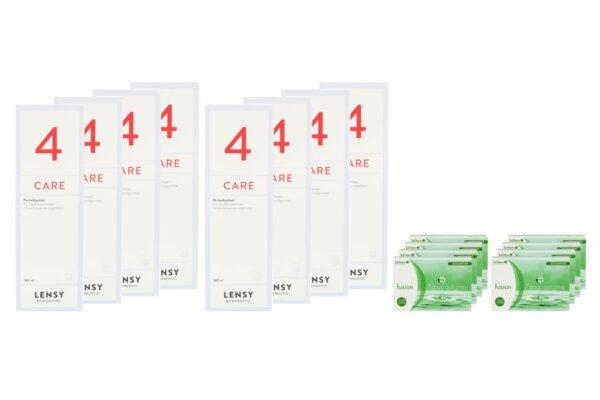 Fusion 7 Days Astigma 8 x 12 Wochenlinsen + Lensy Care 4 Jahres-Sparpaket