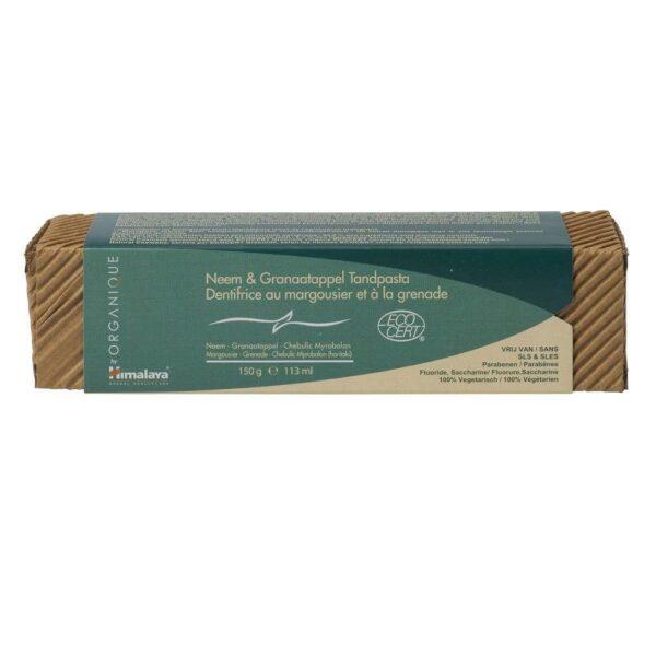 Himalaya® Dentifrice Organique Neem et Grenade