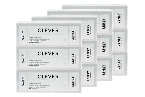 Lensy Daily Clever Multifocal 4 x 90 Tageslinsen Sparpaket 6 Monate