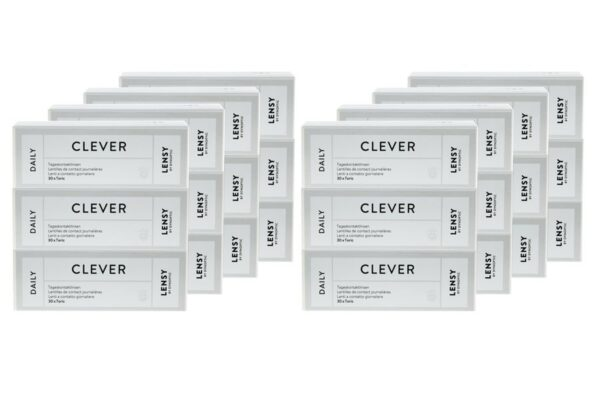 Lensy Daily Clever Toric 8 x 90 Tageslinsen Sparpaket 12 Monate