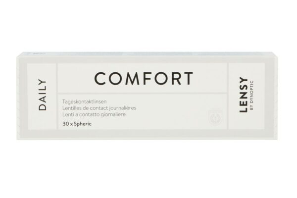 Lensy Daily Comfort Spheric 30 Tageslinsen