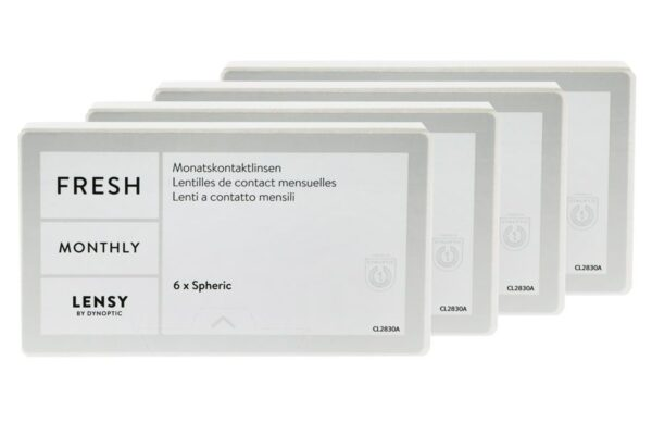 Lensy Monthly Fresh Spheric 4 x 6 Monatslinsen