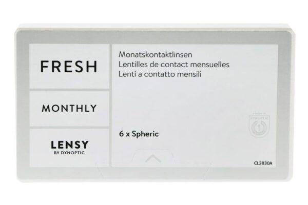 Lensy Monthly Fresh Spheric 6 Monatslinsen