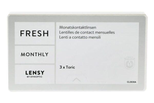 Lensy Monthly Fresh Toric 3 Monatslinsen