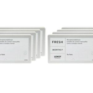 Lensy Monthly Fresh Toric 8 x 3 Monatslinsen