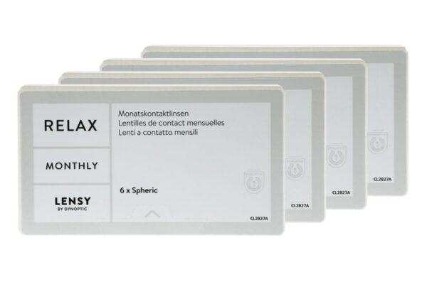 Lensy Monthly Relax Spheric 4 x 6 Monatslinsen