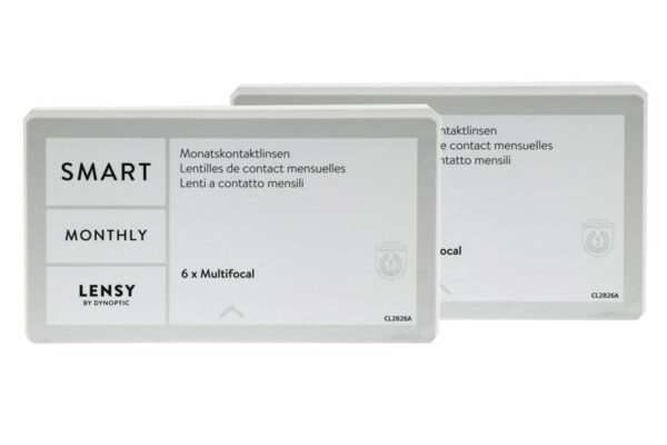 Lensy Monthly Smart Multifocal 2 x 6 Monatslinsen