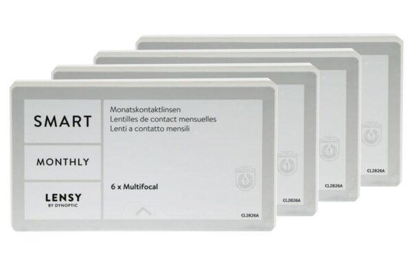 Lensy Monthly Smart Multifocal 4 x 6 Monatslinsen