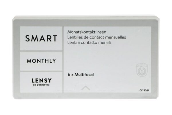 Lensy Monthly Smart Multifocal 6 Monatslinsen