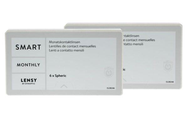 Lensy Monthly Smart Spheric 2 x 6 Monatslinsen