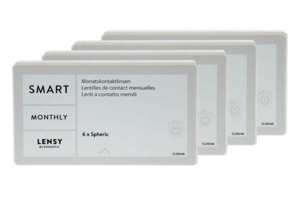 Lensy Monthly Smart Spheric 4 x 6 Monatslinsen