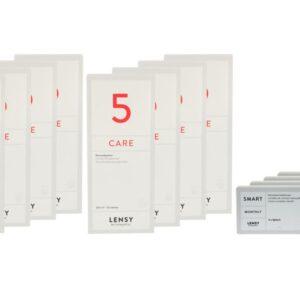Lensy Monthly Smart Spheric 4 x 6 Monatslinsen + Lensy Care 5 Jahres-Sparpaket