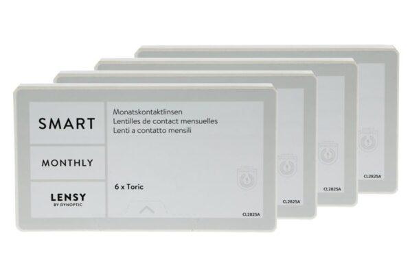 Lensy Monthly Smart Toric 4 x 6 Monatslinsen