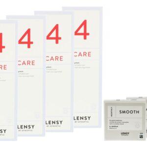 Lensy Monthly Smooth Multifocal 2 x 6 Monatslinsen + Lensy Care 4 Halbjahres-Sparpaket