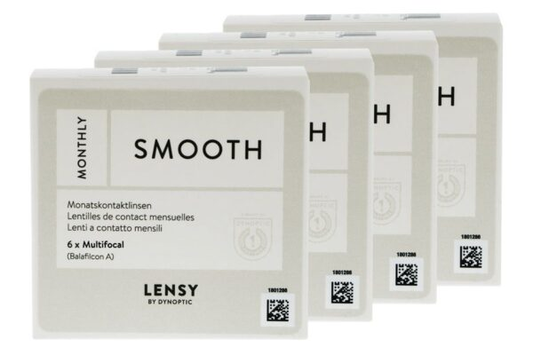Lensy Monthly Smooth Multifocal 4 x 6 Monatslinsen