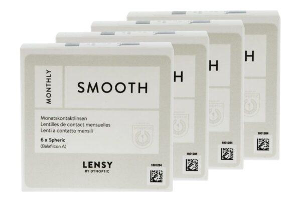 Lensy Monthly Smooth Spheric 4 x 6 Monatslinsen