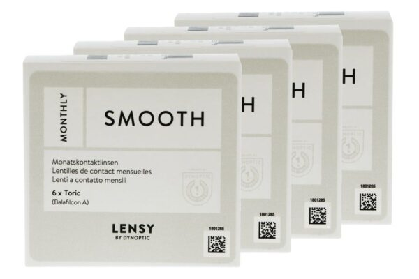 Lensy Monthly Smooth Toric 4 x 6 Monatslinsen