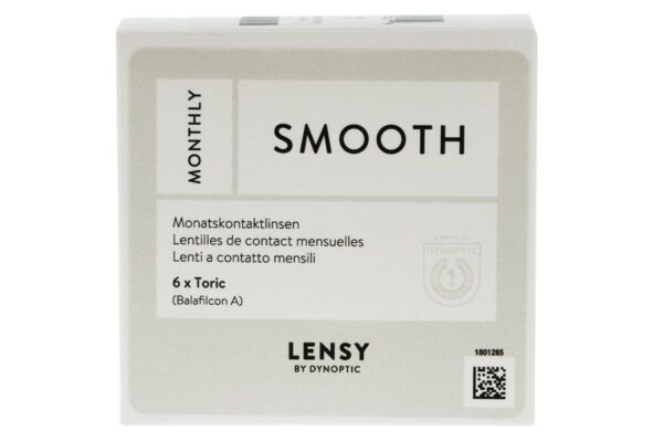 Lensy Monthly Smooth Toric 6 Monatslinsen