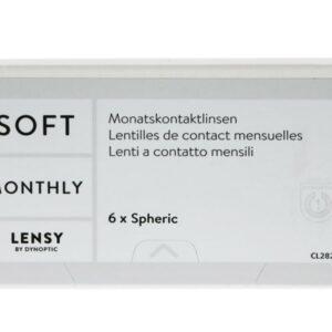 Lensy Monthly Soft Spheric 6 Monatslinsen