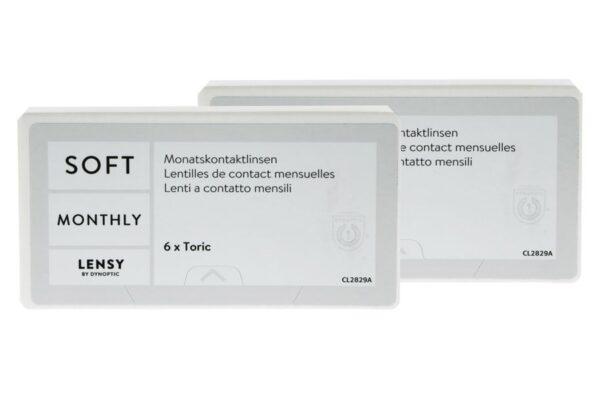Lensy Monthly Soft Toric 2 x 6 Monatslinsen