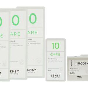 Lensy Monthly Soft Toric 2 x 6 Monatslinsen + Lensy Care 10 Halbjahres-Sparpaket