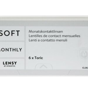 Lensy Monthly Soft Toric 6 Monatslinsen