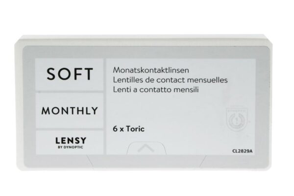 Lensy Monthly Soft Toric 6 Monatslinsen