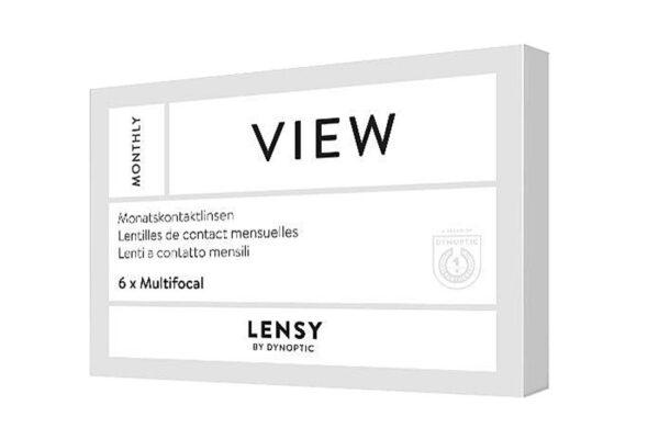 Lensy Monthly View Multifocal 6 Monatslinsen