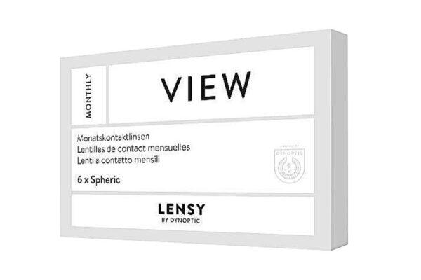 Lensy Monthly View Spheric 6 Monatslinsen