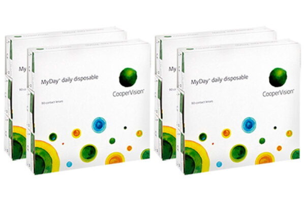 MyDay daily disposable 4 x 90 Tageslinsen Sparpaket 6 Monate